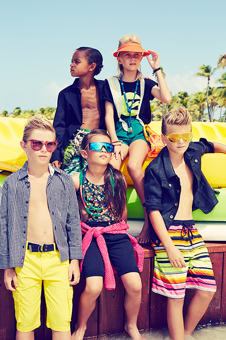 Photo Esperanza Moya Styling Nanda Sansone para Vogue Kids