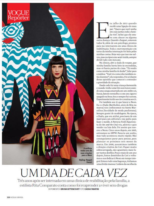Vogue Brasil Photo Cassia Tabatino Styling Rita Comparato