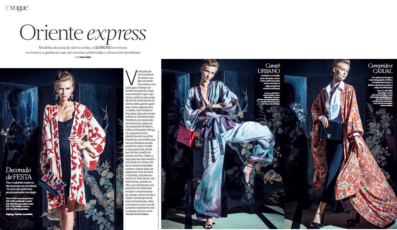 Vogue Brasil Photo Fred Othero Styling Patricia Tremblais