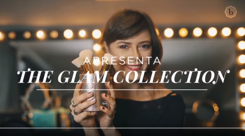 The Beauty Box: The Glam Collection pincéis