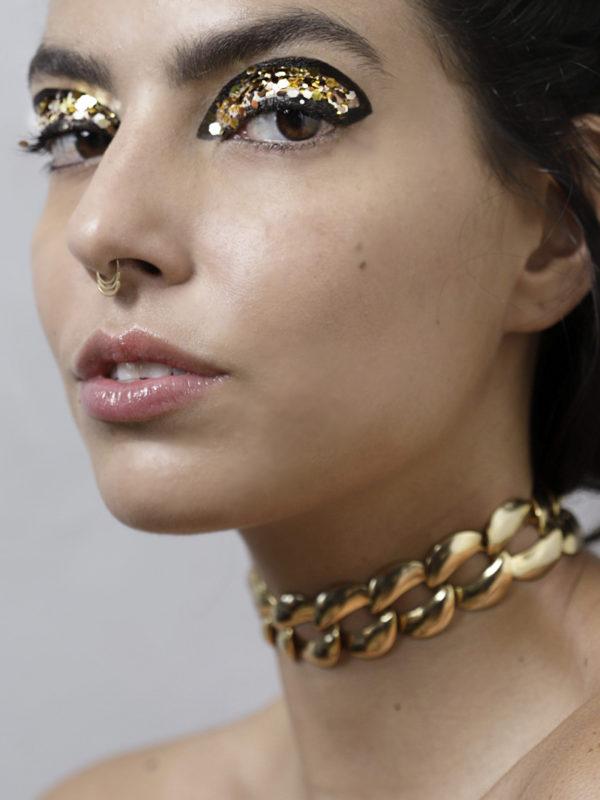 DELIRIO GLITTER PHOTO NINA JACOBI model Laura Vicente